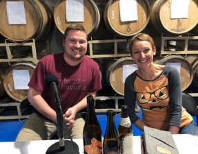 Episode 285 – Patrick Woodson and Roxanne Bellamy at Brewery Bhavana!